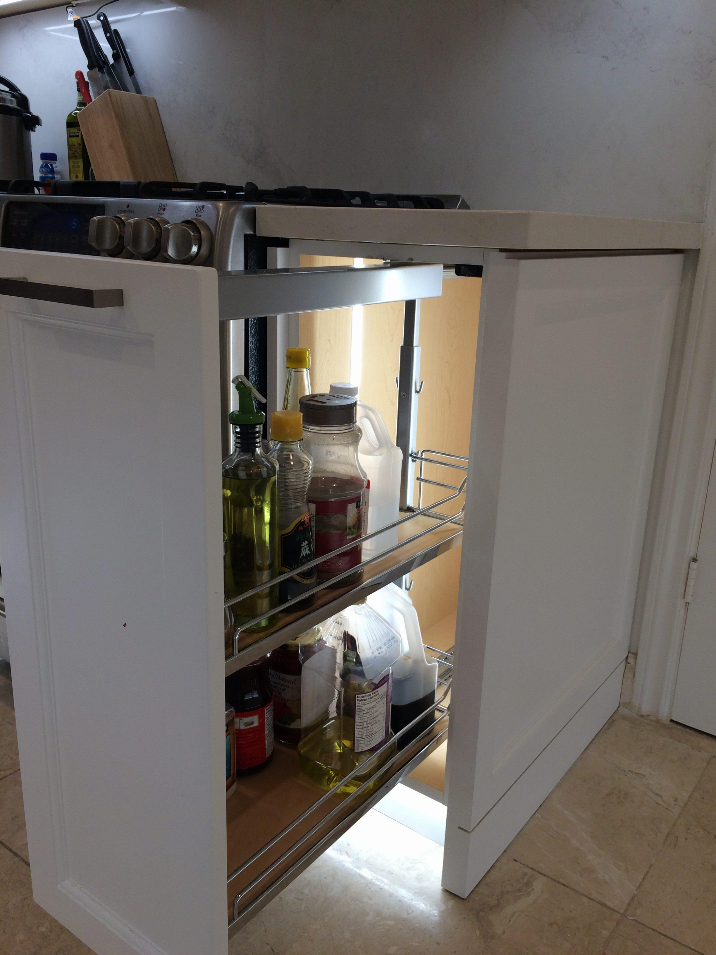 Kitchen cabinet-soft slider picture