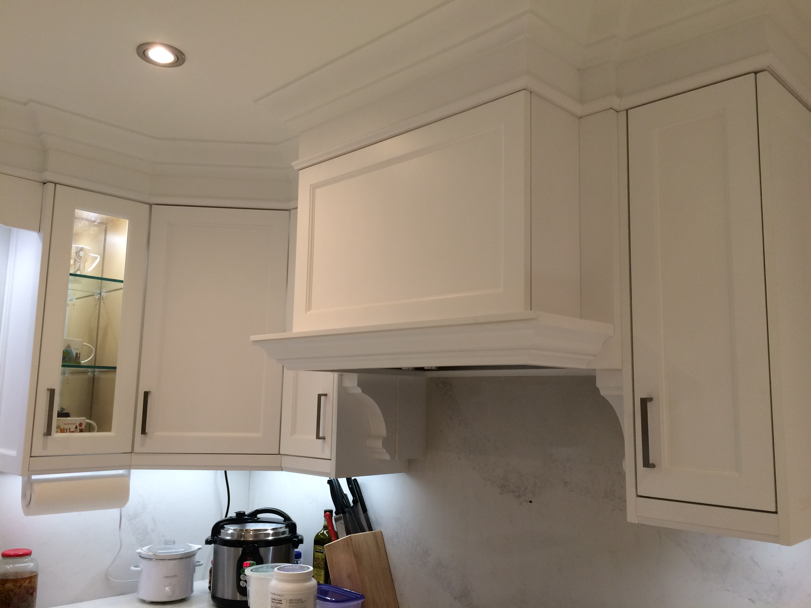 Kitchen cabinetry picture -above oven