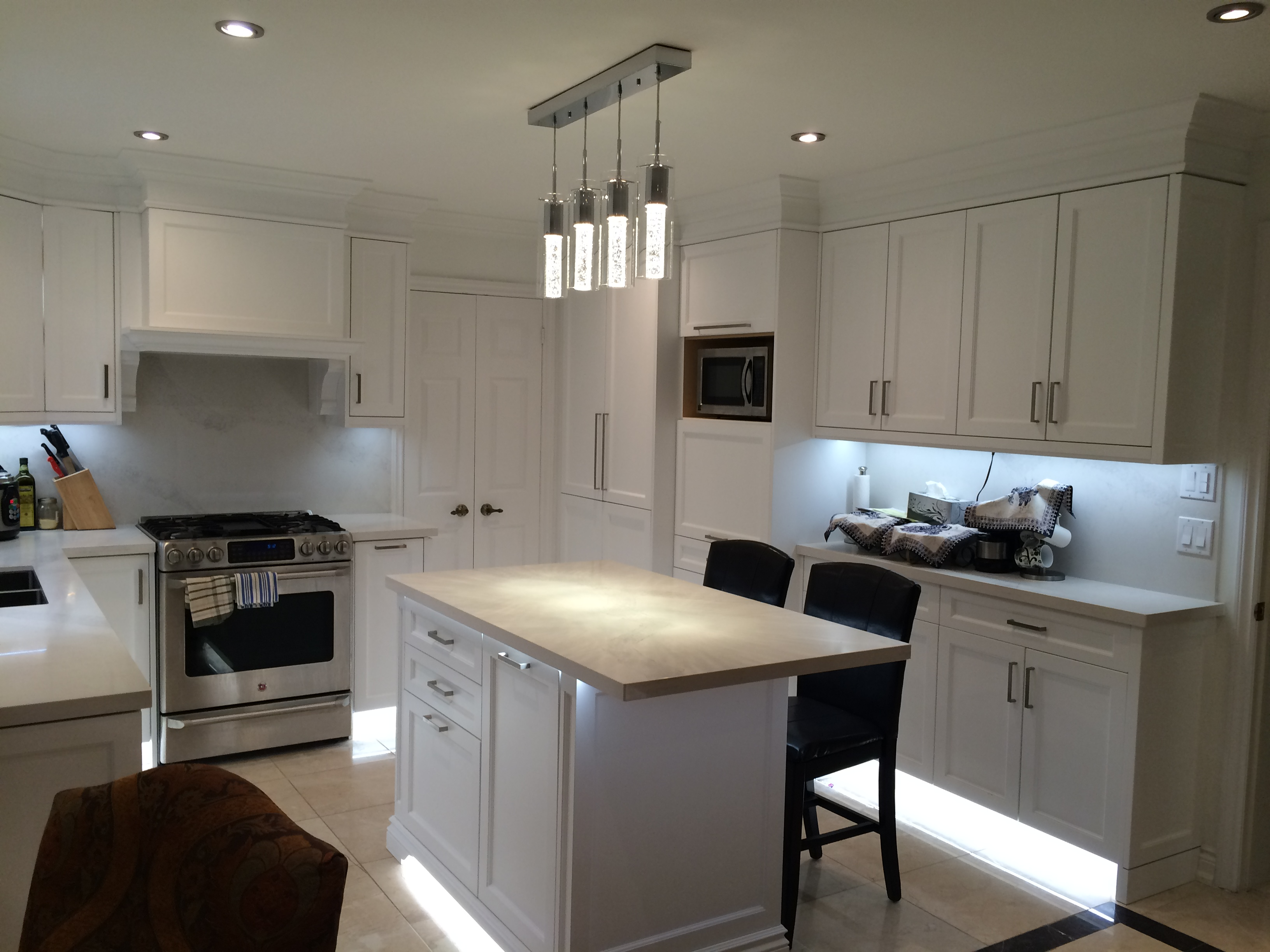 Kitchen cabinetry- small island